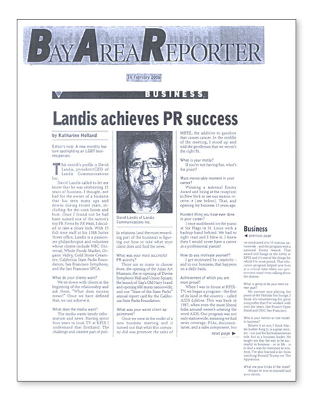 PRSA article