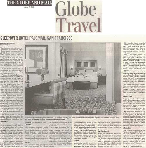 Palomar - The Globe and Mail