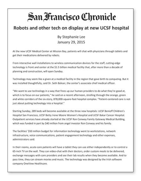 UCSF Medical Center | LCI