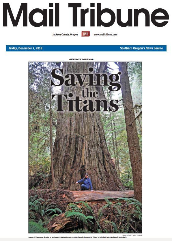 Mail Tribune Redwoods
