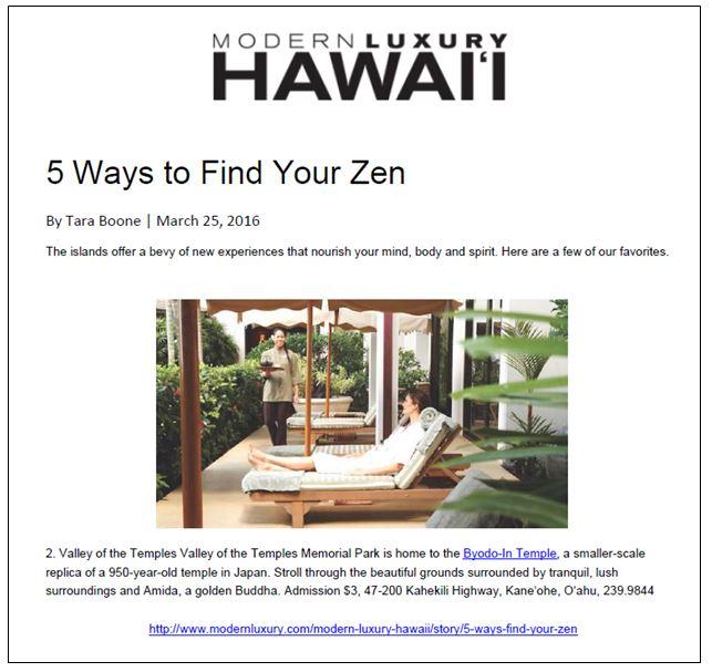 Modern Lux Hawaii