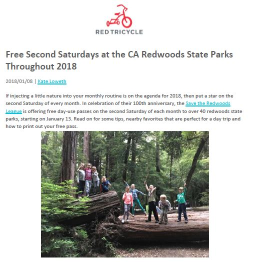 Save the Redwoods League in Red Tricycle