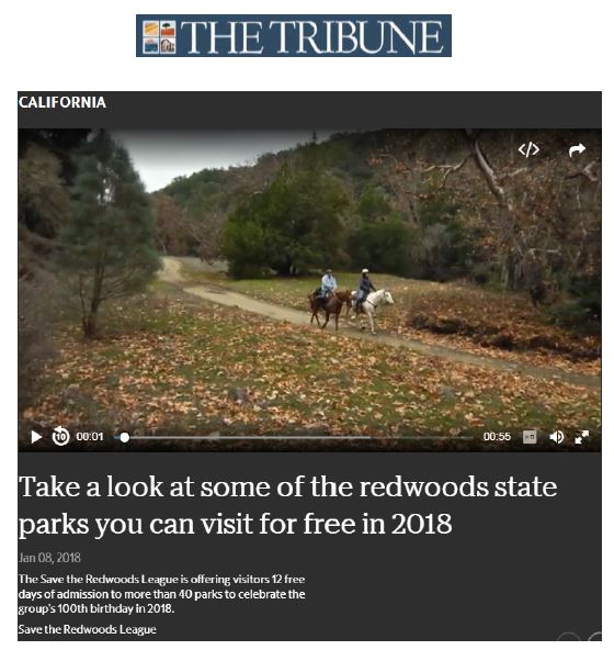 Save the Redwoods League in the Tribune
