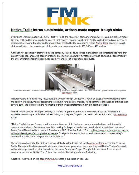 FMLink Native Trails