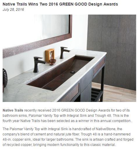 Green Good Design Award