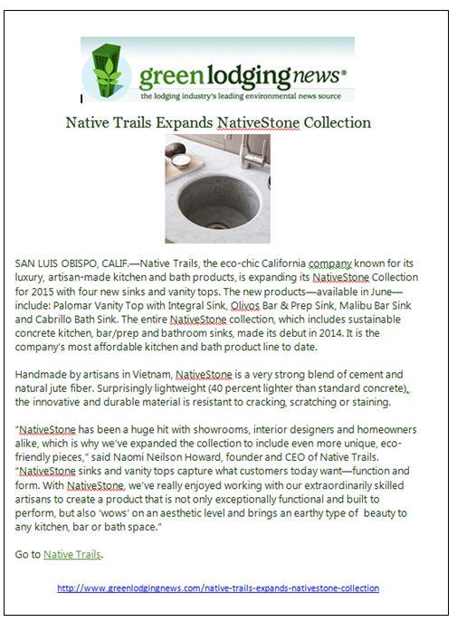 NT Green Lodging News 2