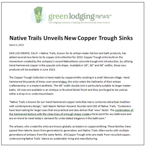 NT Green Lodging News