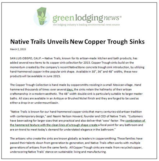 NT Green Lodging News