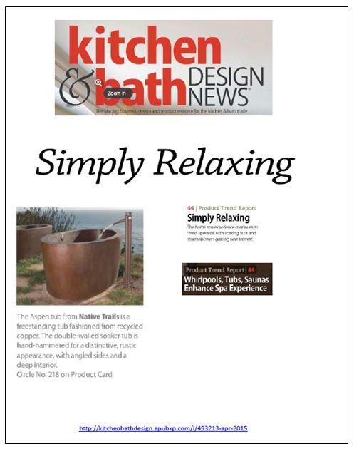 NT Kitchen and bath design news 2