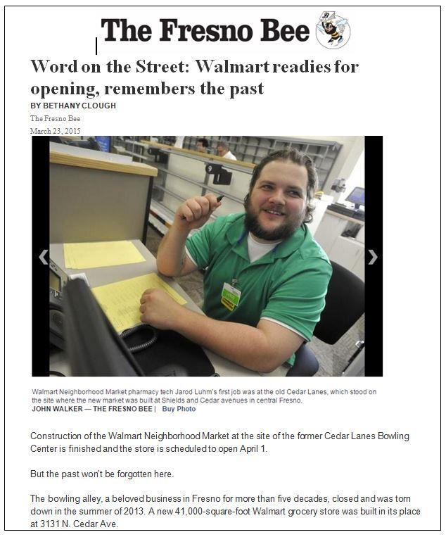 Walmart Fresno Bee