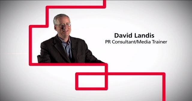 David Landis PR Consultant / Media Trainer