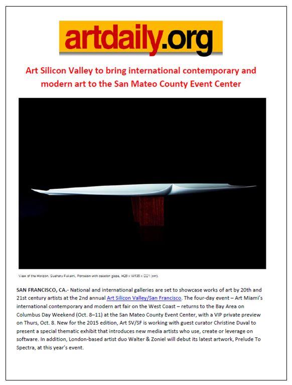ArtSVSF Art Daily