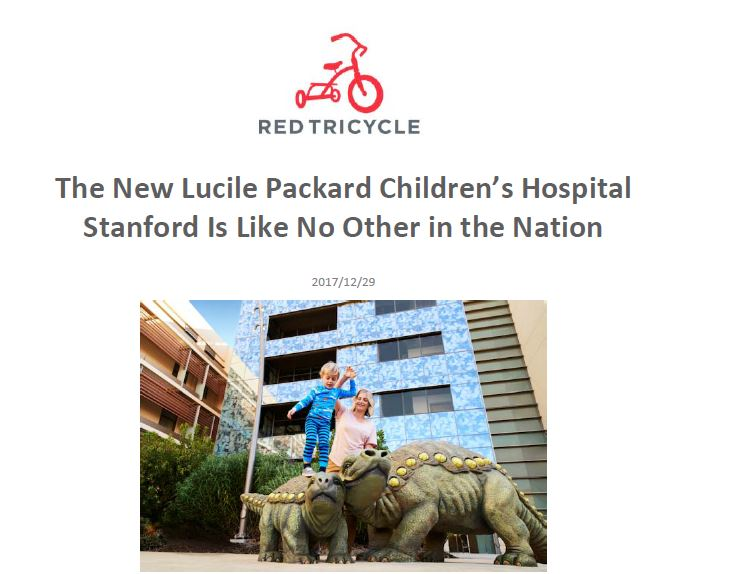 Stanford Children's Hospital accommodates all children and families