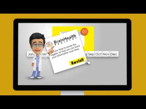 Brain Health Registry computer screenshot