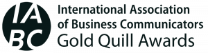 IABC International Association of business Communications Gold Quill awards