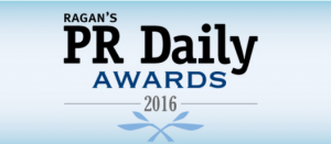 Ragan's PR Daily Awards - 2016