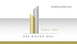 One Rincon Hill Business Card Front