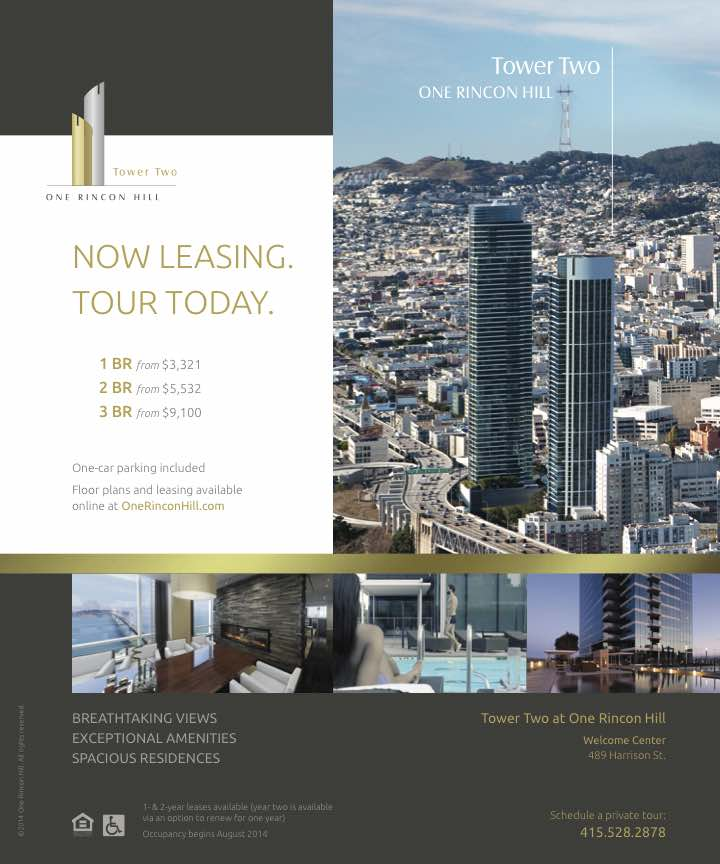 One Rincon Hill - Tower Two flyer