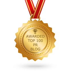Awarded Top 100 PR Blog