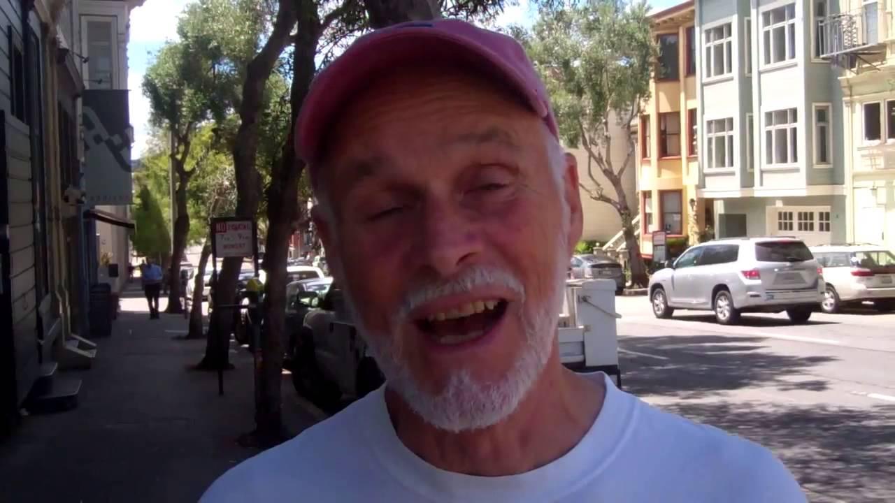 Man with white beard