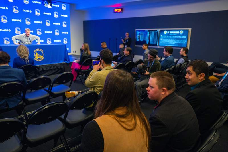 Golden State Warrios press conference