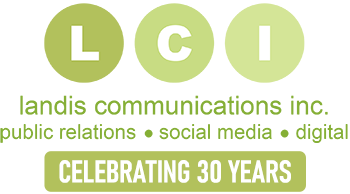 LCI - Landis Communications - Public Relations, Social Media, Digital - Celebrating 30 Years