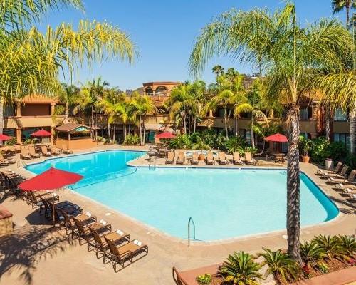 Handlery Hotel Pool