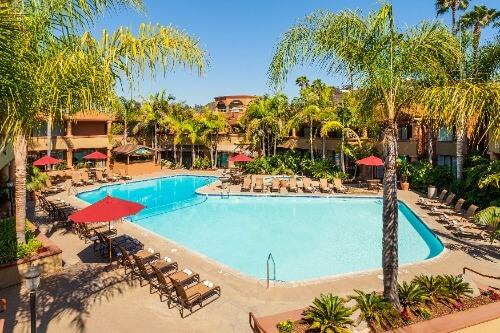 Handlery Hotels San Diego pool